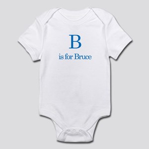 B is for Bruce Infant Bodysuit