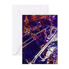 Mardi Gras Moment Greeting Cards (Pk of 10)
