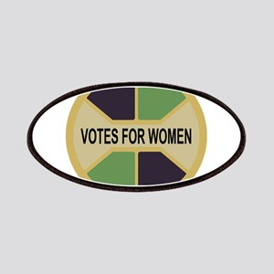 Votes For Women button design Patch