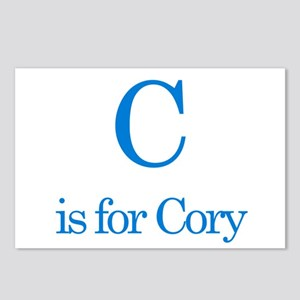 C is for Cory Postcards (Package of 8)
