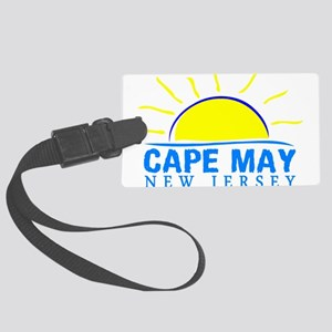 Summer cape may- new jersey Large Luggage Tag