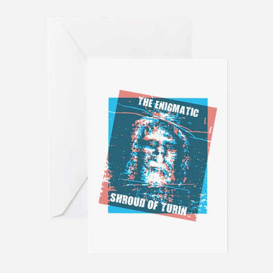 The Shroud Of Turin Greeting Cards (Pk of 10)