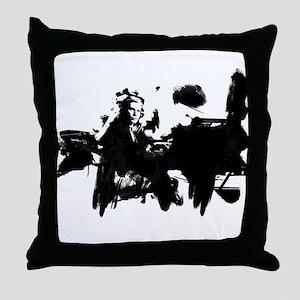 Glenn Gould Pianist Throw Pillow