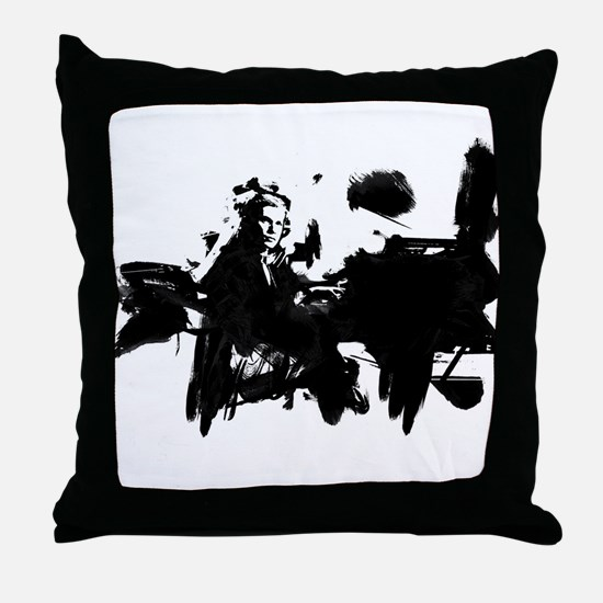 Glenn Gould Pianist Throw Pillow