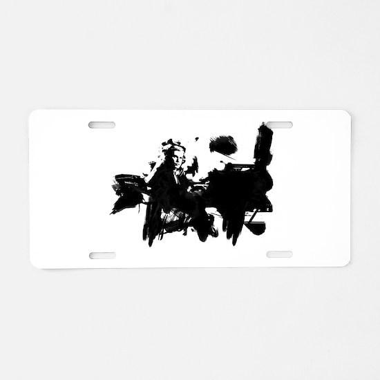 Glenn Gould Pianist Aluminum License Plate