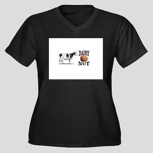 Dairy Nut Plus Size T-Shirt