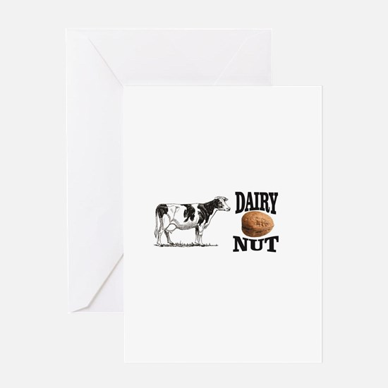 Dairy Nut Greeting Cards
