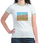 Hapawood Star In A Jr. Ringer T-Shirt