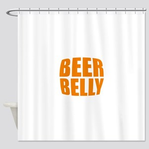 Beer belly Shower Curtain