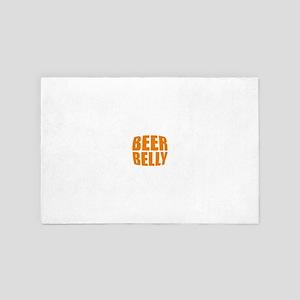 Beer belly 4' x 6' Rug