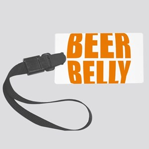 Beer belly Large Luggage Tag