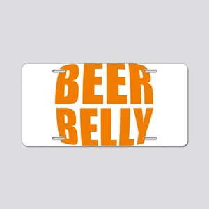 Beer belly Aluminum License Plate