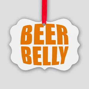 Beer belly Picture Ornament