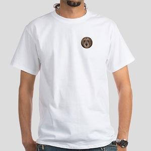 Bear Face White T-Shirt