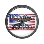 Legalize Freedom Wall Clock