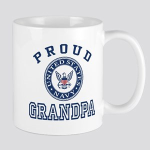 Proud US Navy Grandpa Mug