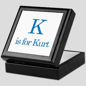 K is for Kurt Keepsake Box