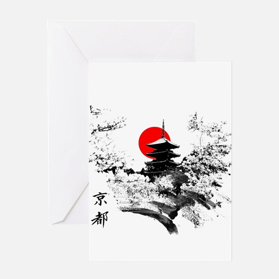 Kyoto Temple Greeting Cards