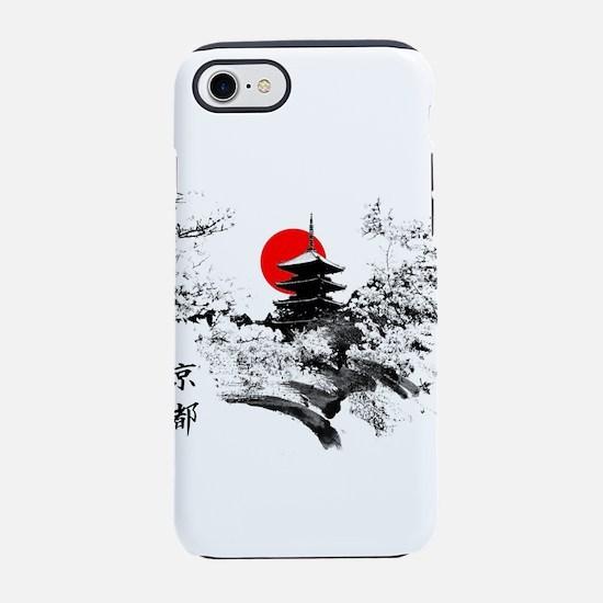 Kyoto Temple iPhone 8/7 Tough Case