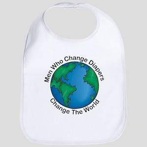 Men Who Change Diapers Bib