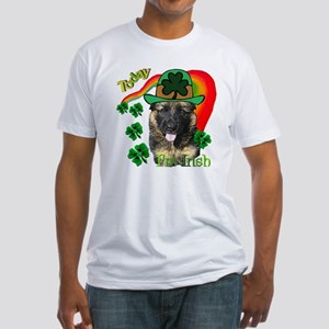St Pats German Shepherd Fitted T-Shirt