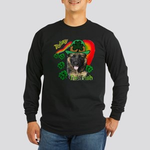 St Pats German Shepherd Long Sleeve Dark T-Shirt