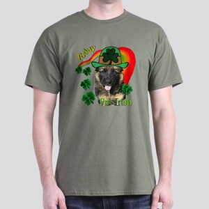 St Pats German Shepherd Dark T-Shirt