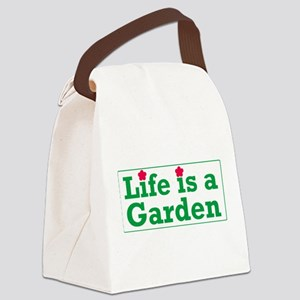 Garden Canvas Lunch Bag