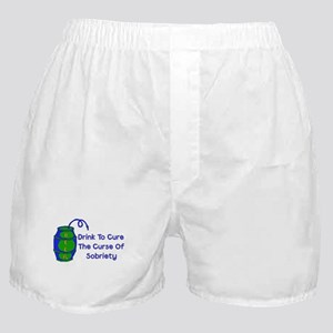 Drink Beer Boxer Shorts