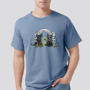 Scottish Terrier Double White T-Shirt