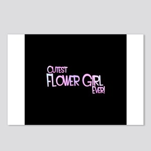 Cutest Flower Girl Ever! Postcards (Package of 8)
