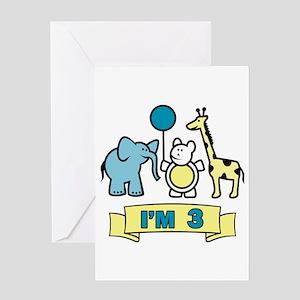 Animal Kingdom 3 Greeting Card