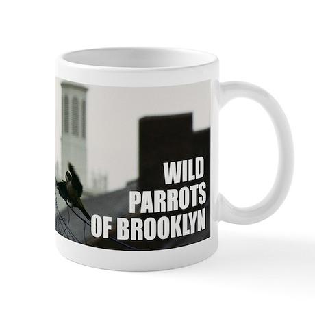 Wild Parrots of Brooklyn Mug: Big Bird on Campus