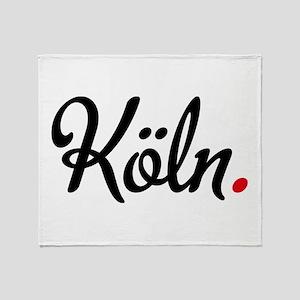 Köln Throw Blanket