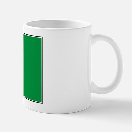 Marijuana Green  Canadian Fla Mug