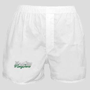 Smoking MaryJane Boxer Shorts