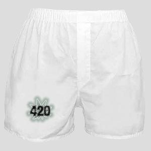 Marijuana Power Leaf 420 Boxer Shorts