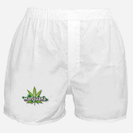 Marijuana leaves Boxer Shorts
