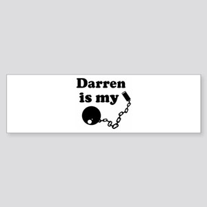 Ball and Chain: Darren Bumper Sticker