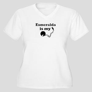 Ball and Chain: Esmeralda Women's Plus Size V-Neck