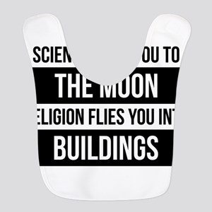 Science or Religion Polyester Baby Bib
