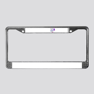 SISTER HERO License Plate Frame