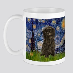 Starry Night / Affenpinscher Mug