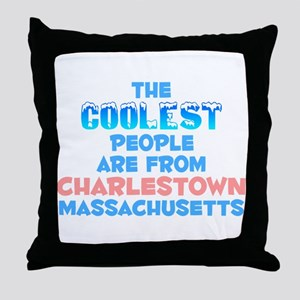 Coolest: Charlestown, MA Throw Pillow