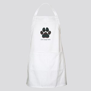 Live Laugh Bark Light Apron