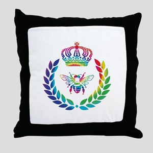 THE FRENCH BEE Throw Pillow