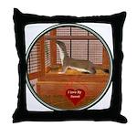 Ferret #2 Throw Pillow