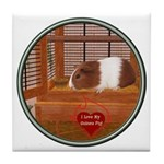 Guinea Pig #1 Tile Coaster