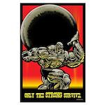 STRONGMAN Large Poster