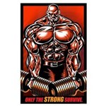 BIG SHRUGGER! Large Poster